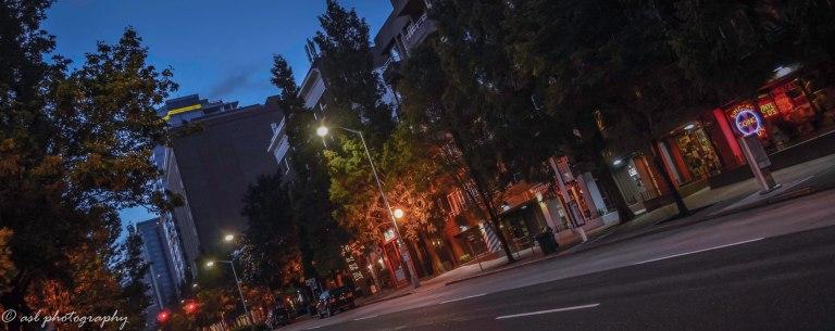 mprning street